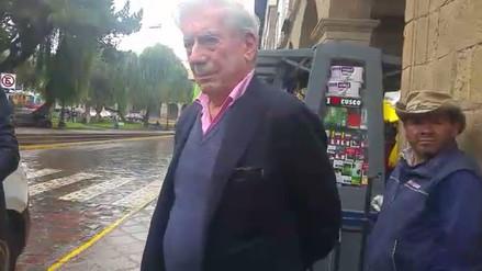 """Vargas Llosa sobre Piura: """"Es una tragedia que me apena muchísimo"""
