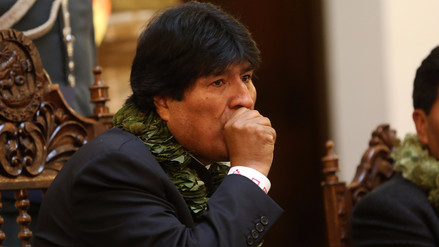 Evo Morales viajó a Cuba para una operación en la garganta: