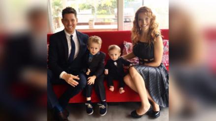 Michael Bublé y su familia regresan a Argentina