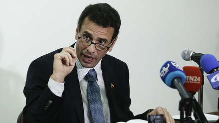 """Henrique Capriles: """"En Venezuela se ha dado el 'madurazo'"""""""