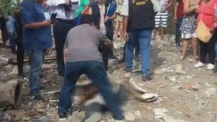 Tres muertos y un herido dejó balacera en Nasca