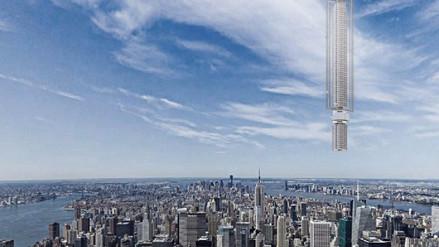 Arquitectos de Nueva York proponen rascacielo sostenido de un asteroide