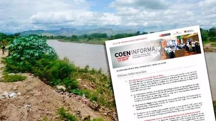 Interactivo | ¿Qué ríos se encuentran en alerta a nivel nacional?