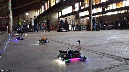 Drone Clash, la primera competencia oficial de drones