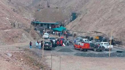 Recuperan cadáver de minero atrapado en Acarí después de dos meses