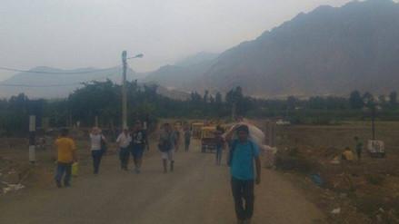 Virú: anuncian habilitación de vía alterna a puente La Alameda