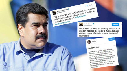 Fotos | artistas venezolanos expresan repudio por autogolpe de Nicolás Maduro