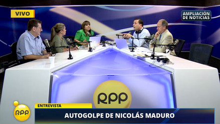Patricia del Río y Aldo Mariátegui debatieron en vivo sobre las dictaduras