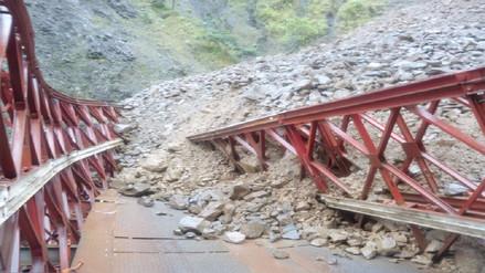 La Convención: colapsó puente y habitantes quedaron aislados