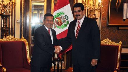 """Ollanta Humala: """"La situación de Venezuela es preocupante para todos"""""""