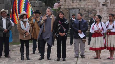 Magaly Solier recibió las credenciales como Artista por la paz
