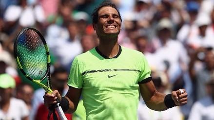 Rafael Nadal disputará su quinta final en el Masters 1000 de Miami