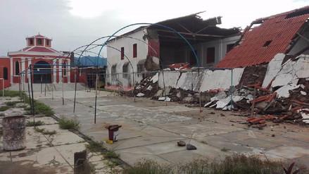 Gobierno Regional intervendrá en restauración de iglesia de Olmos