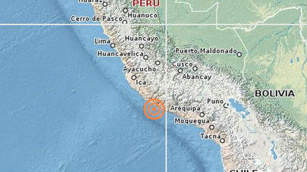 Un sismo de 4.4 grados de magnitud remeció Arequipa