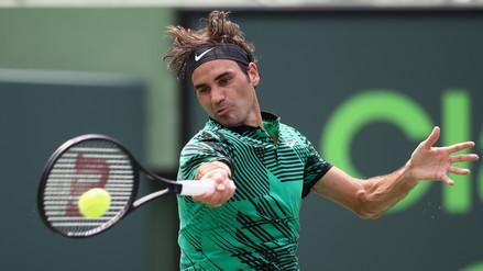 Roger Federer venció a Rafael Nadal y ganó el Masters 1000 de Miami