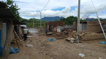 Salas: piden alimentos para caserío aislado por lluvias