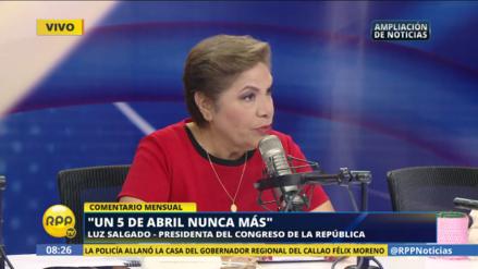 """Luz Salgado: """"Un 5 de abril nunca más"""""""