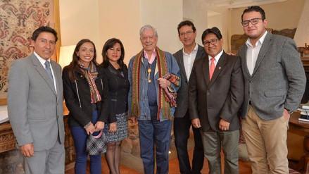 Declaran a Mario Vargas Llosa Huésped Ilustre de Cusco