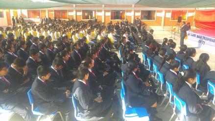 Colegio de Alto Rendimiento de Arequipa inició labores escolares