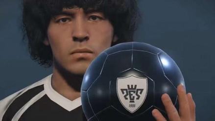 Konami le respondió a Maradona por el uso de su imagen en PES 2017
