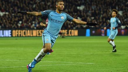 Gabriel Jesús regresó a los entrenamientos del Manchester City