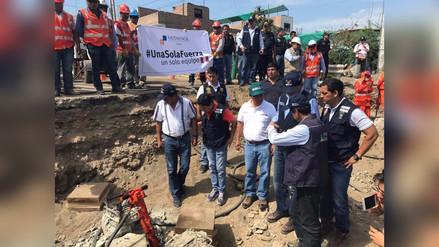 Virú: inspeccionan instalación de puente para recuperar tránsito en Panamericana