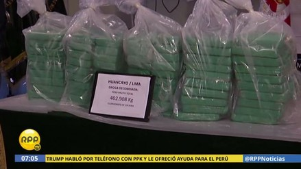 La Policía incautó más de 400 kilos de droga en megaoperación
