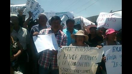 Familias de Rinconada piden ayuda para reconstrucción de su pueblo