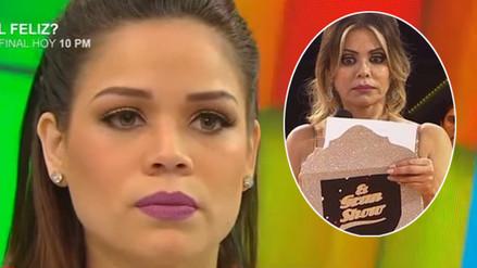 Andrea San Martín llora por humillación de Gisela Valcárcel