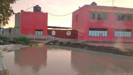 Bomberos de Mala piden la construcción de un cuartel desde hace 7 años