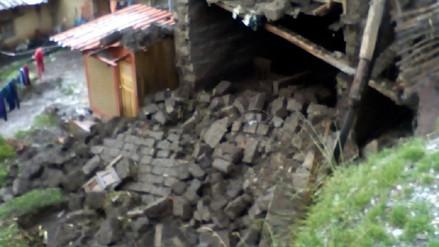 Desborde tras lluvias y granizadas deja cuatro familias damnificadas en Calca
