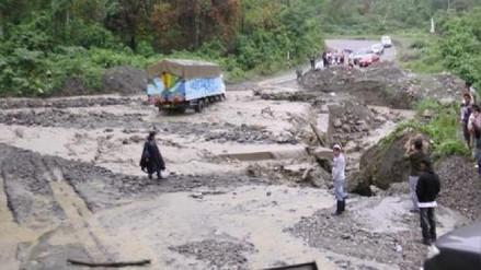 Andahuaylas: huaicos destruyen carretera y deja familias aisladas en Huayana