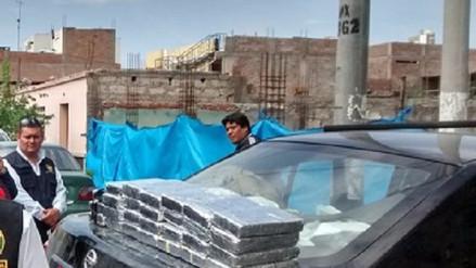 Policía Antidroga incautó 220 kilos de droga en tres meses en Arequipa
