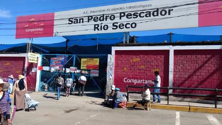 Arequipa: clausuran terminal pesquero de Río Seco