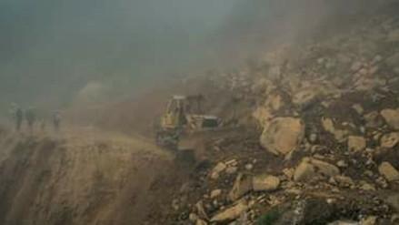 Otuzco: deslizamiento aísla a caseríos en la parte alta de Usquil