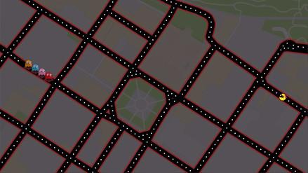Ahora puedes jugar Pacman en Google Maps