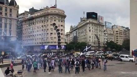 Comando Sur se adueña de las calles de Avellaneda con cánticos