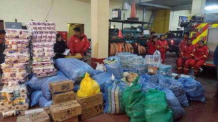 Estudiantes de Ilave envían ayuda para afectados y damnificados del norte