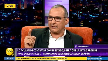 Hermano de Cecilia Chacón:
