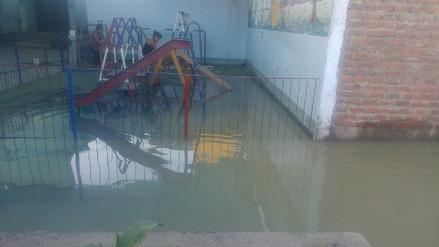 Trujillo: jardín de niños inundado por aguas servidas desde hace 4 días