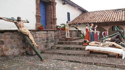 Entregan diez imágenes escultóricas restauradas en Cusco