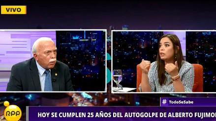 Milagros Leiva explotó al discutir con Carlos Tubino sobre el 5 de abril