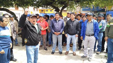 Marcha de sacrificio arriba a Huancayo desde Cobriza