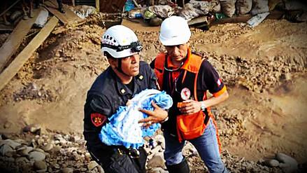 Rescatistas de la PNP salvaron a casi 4 mil personas durante inundaciones