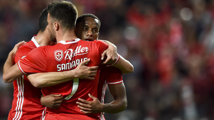 André Carrillo anotó para Benfica que avanzó a la final de la Copa de Portugal