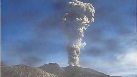 Se incrementó actividad volcánica del Sabancaya