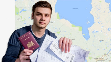 Viajó a Canadá cuando quería ir a Australia: escogió el Sídney equivocado
