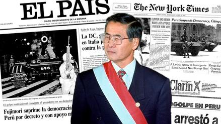 Así informó la prensa internacional sobre el autogolpe de Fujimori
