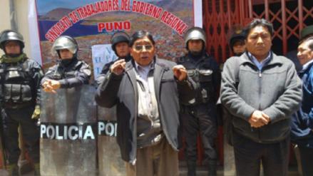 Trabajadores del Gobierno Regional de Puno ingresarán en huelga indefinida
