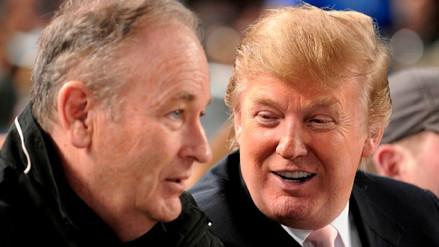 Trump defendió a Bill O'Reilly, el presentador acusado de acoso sexual